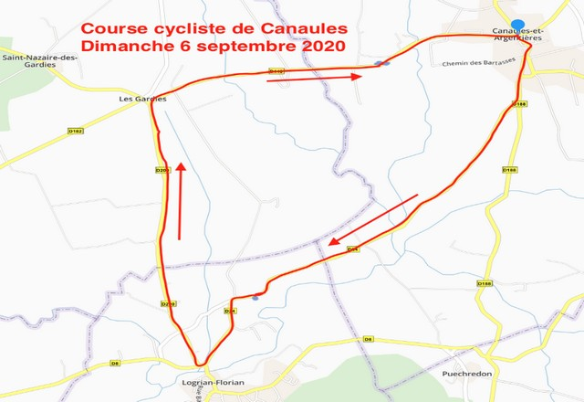 circuit course canaules
