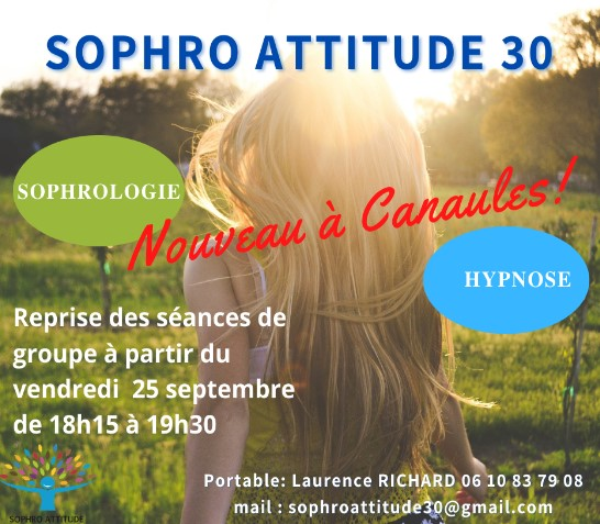 affiche sophrologie canaules